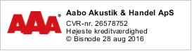 AAA for Aabo akustik